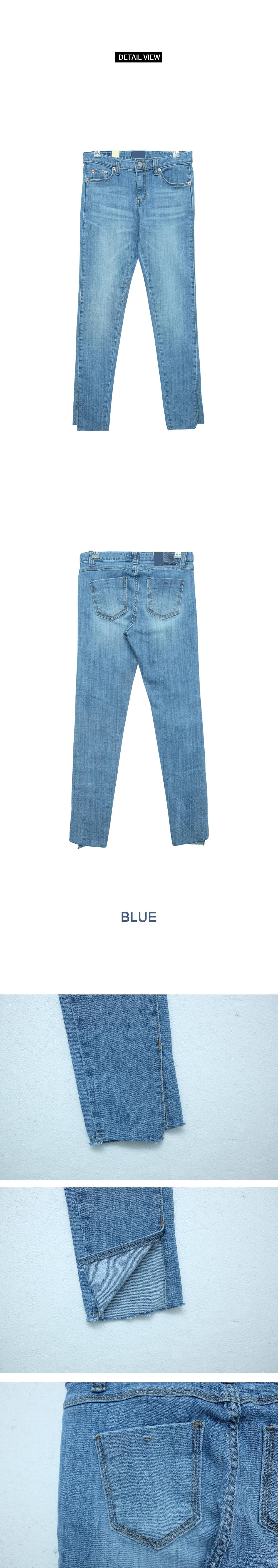 Skirt skinny jeans