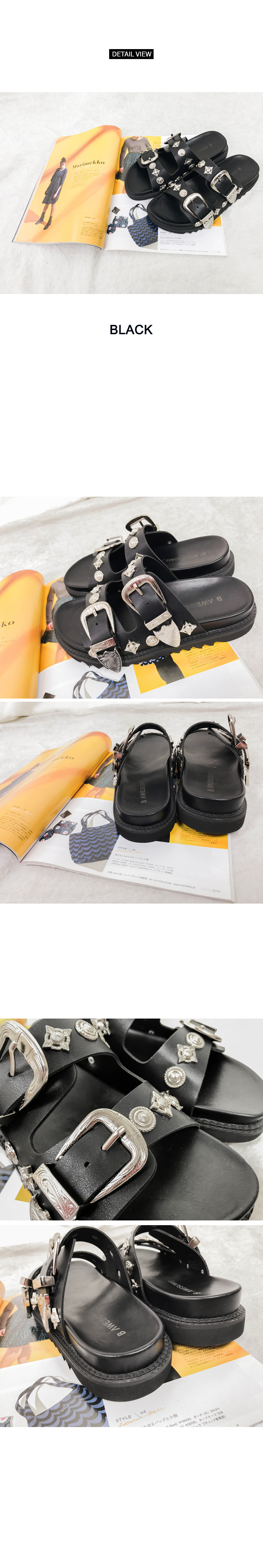 Western Style Slippers (sh682)