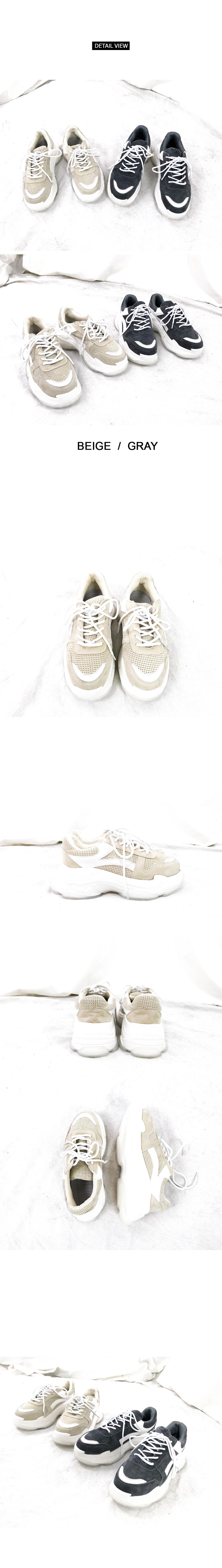 Soft-key-level sneakers (sh679)