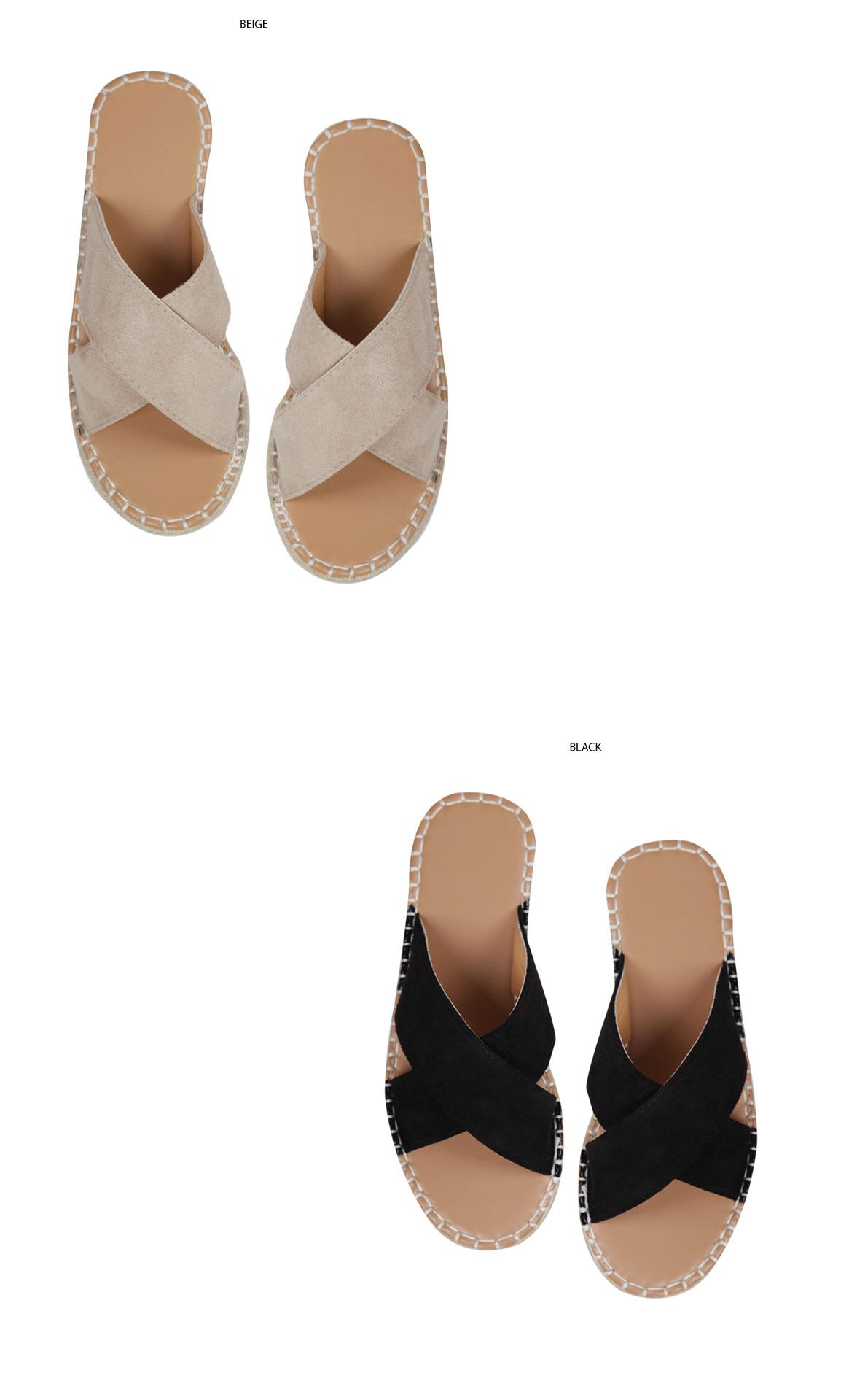 10% off 4.8 cm heel !! Wedge slipper