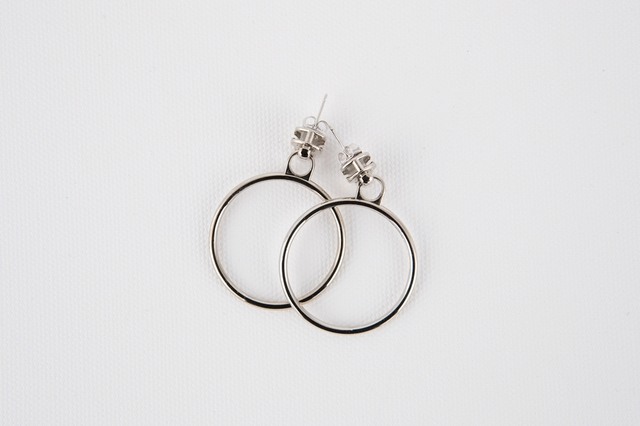 Zipper earring