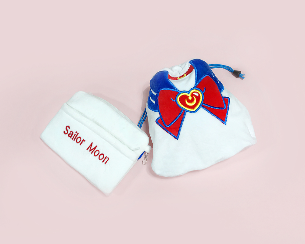 Moon crystal pouch