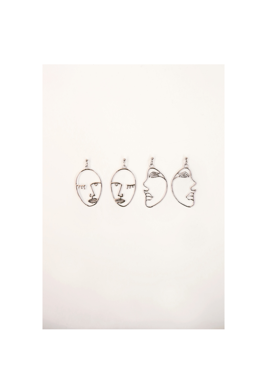 PICASO SILVER EARRING