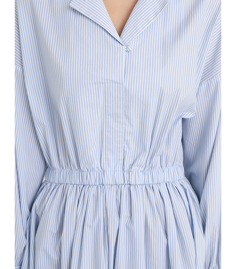stripe old memory one-piece (2colors)