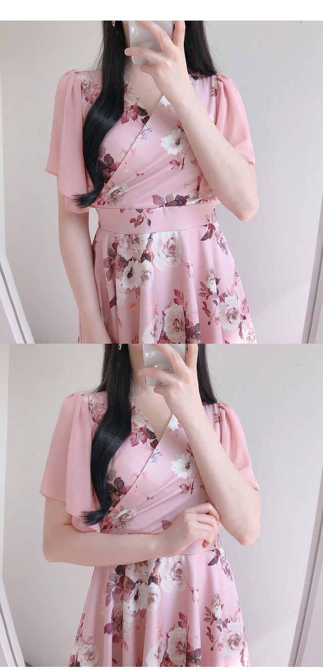 10% off the name ♥ Sandy Flower mini ops (pink, black)