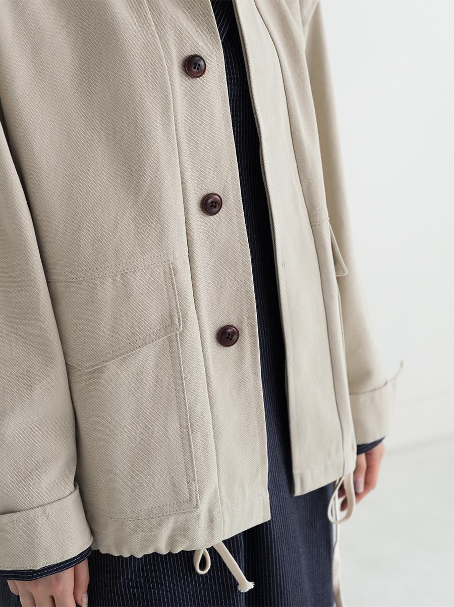 strap detail jacket