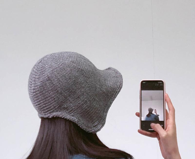 Wool Wire Bonnet
