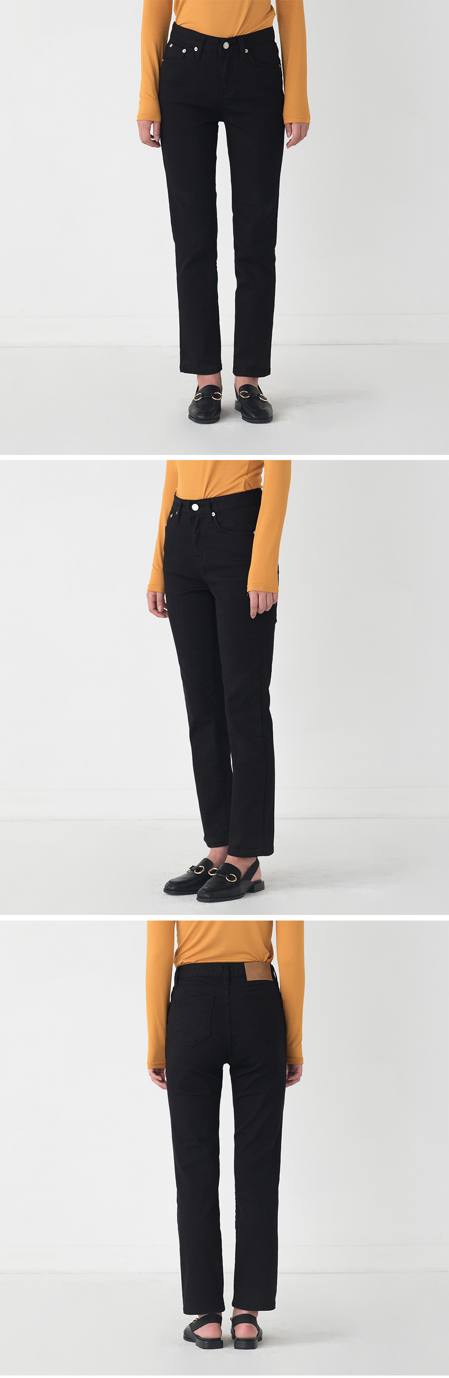 normal straight pants