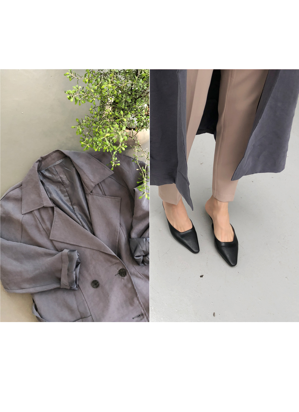 Life Fit Trench Coat