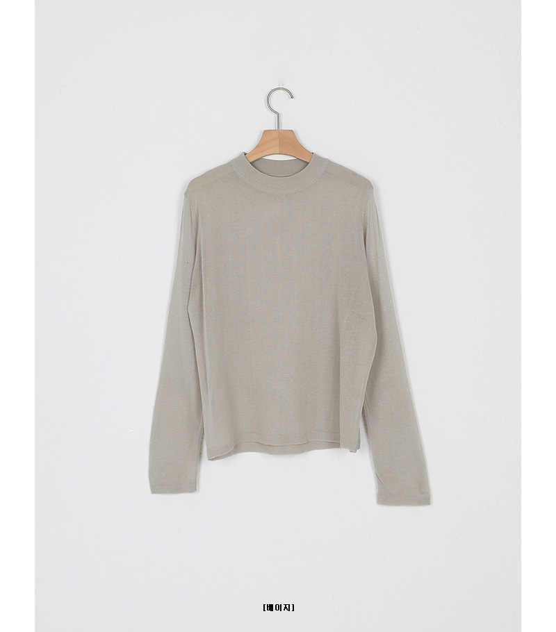 basic silhouette knit (5colors)