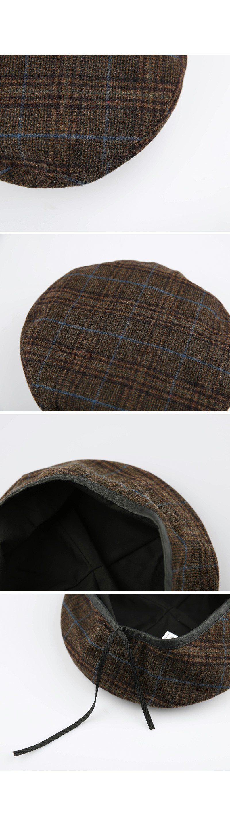 Check beret