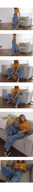 Slim Cat Crop T-shirt