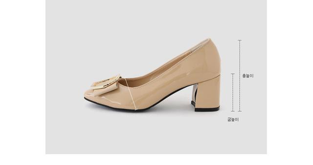Pel Root Middle Heel Pumps 6cm