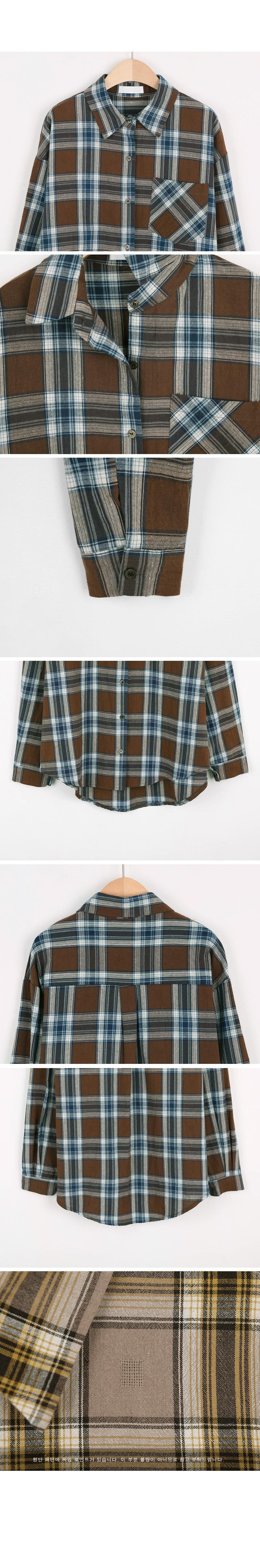 Boy check shirt