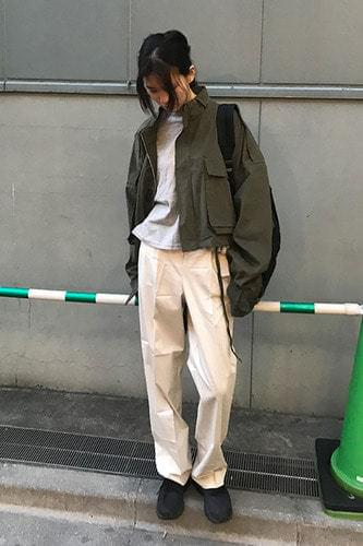 bread belt pants (2colors)