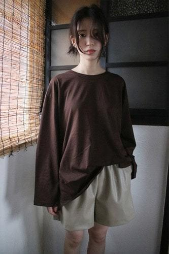 basic sleeve t-shirt (4colors)