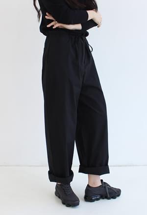 Cotton long over pants (2colors)