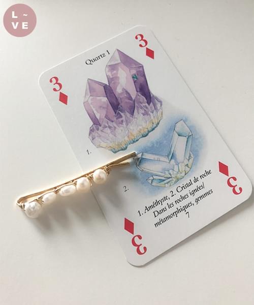 (made lavenir) basic pearl pin