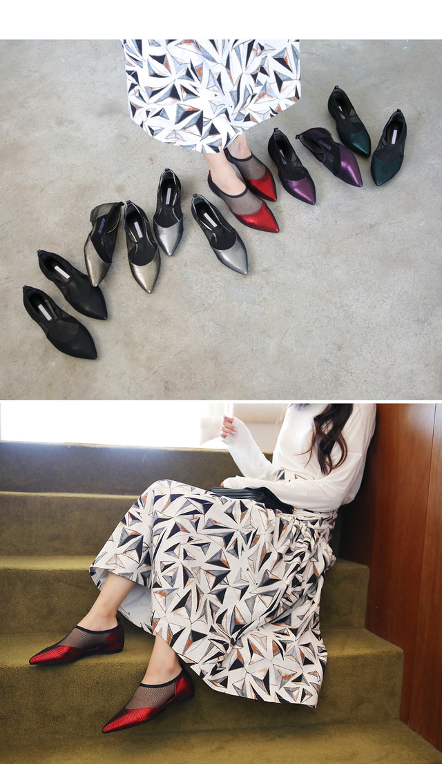 Chief Key Height Flat Shoes 3cm
