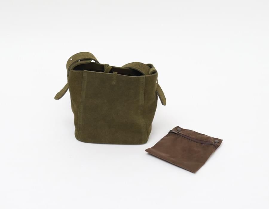 Matt cowskin mini bag_M (size : one)