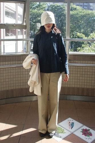 greenery color cotton pants (2colors)