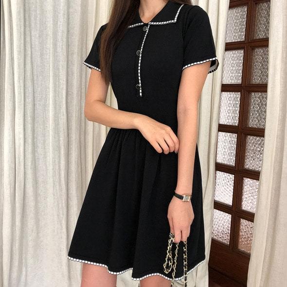 Petit knit dress