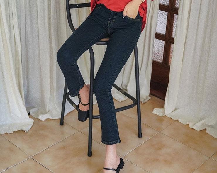 Waist Slim Fit Pants