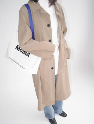 classy trench single coat (3colors)