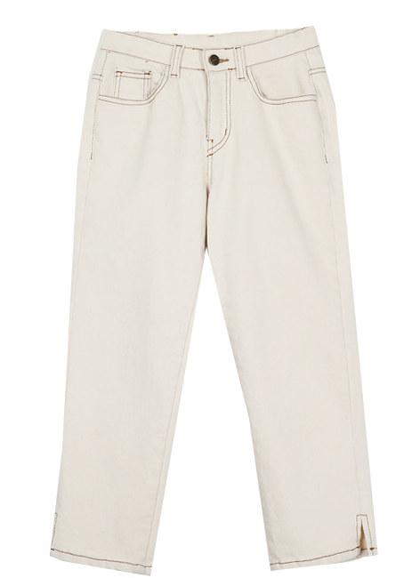 Return cream exhaust pants
