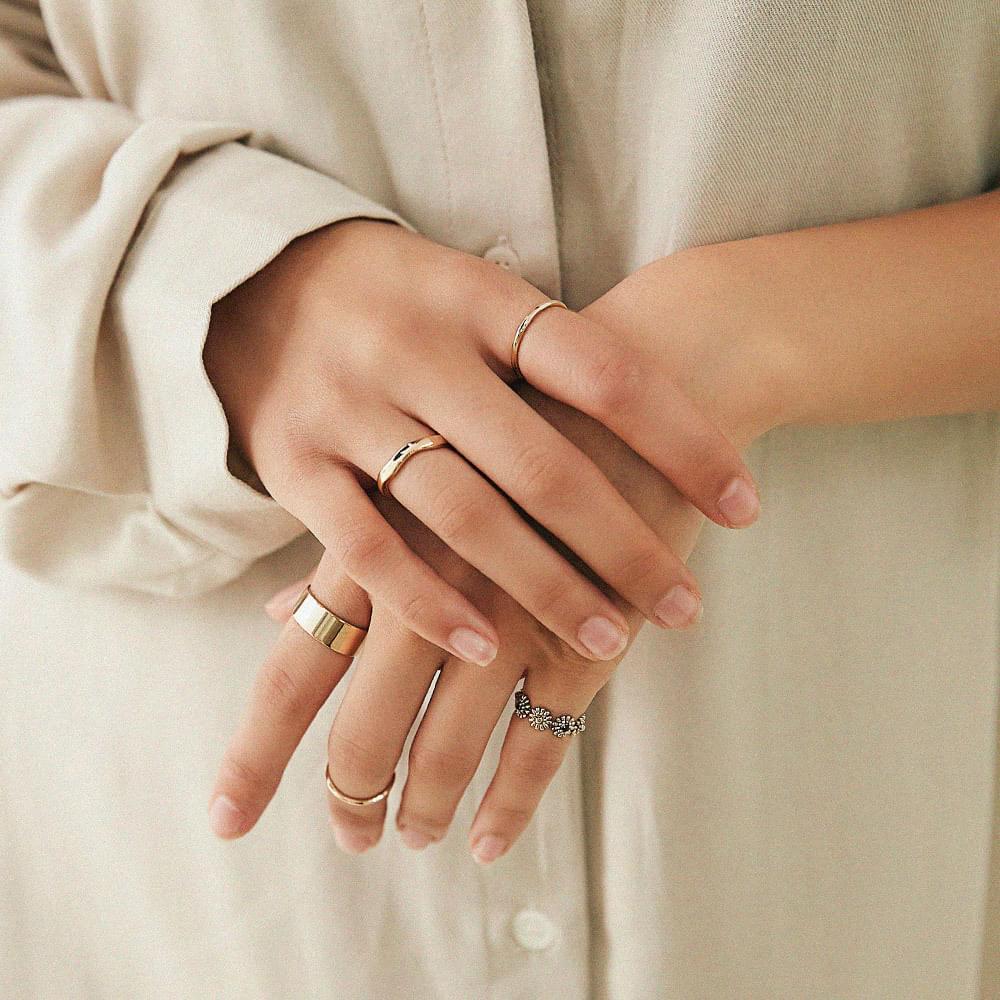 Fringe Ring Set