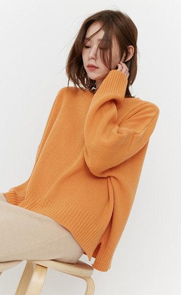 color loose knit (5colors)