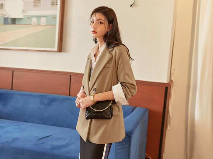[OUTER] WELL TWO BUTTON TAILORED JACKET