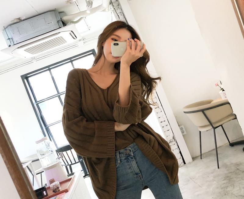 Chocolate Hug Knit