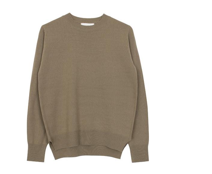 Autumn round knit (6colors)