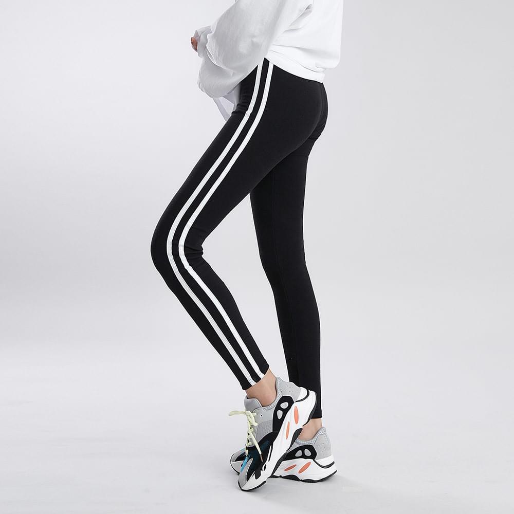 Two line line leggings