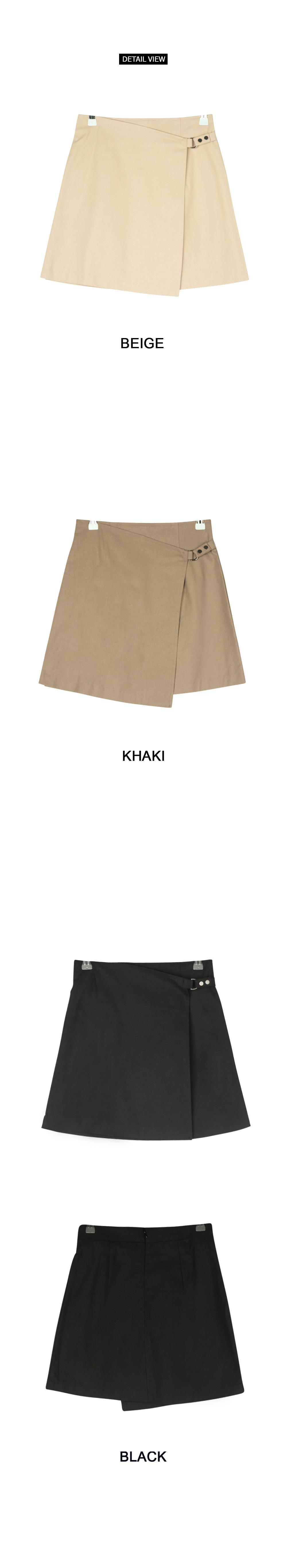 Olly Belt Wrap Skirt