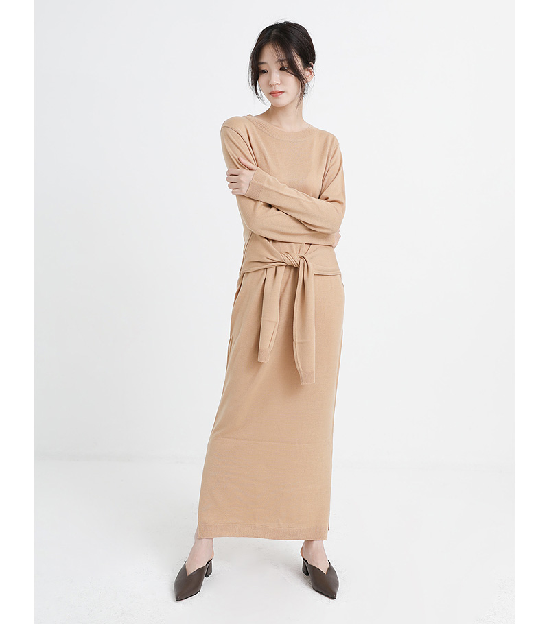 Two arms tie one-piece (3colors)