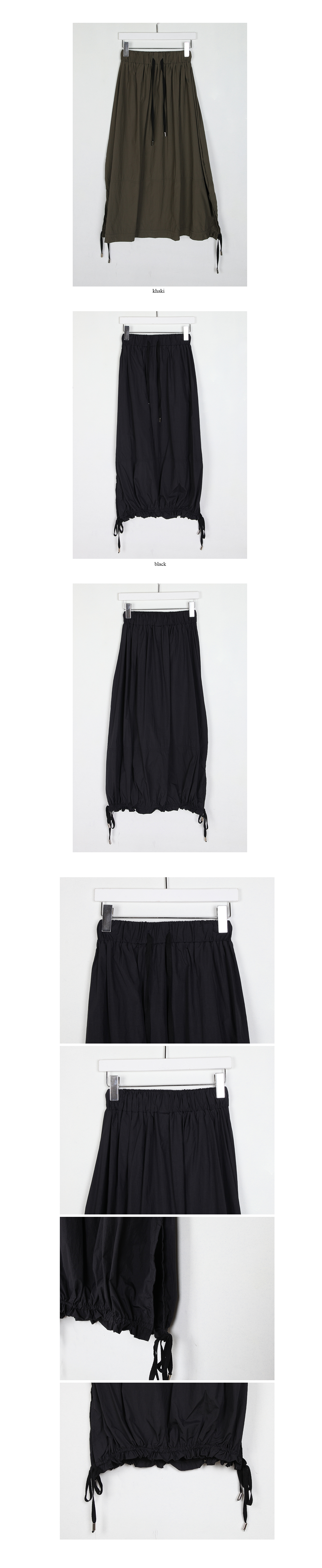 string slit skirt(2colors)