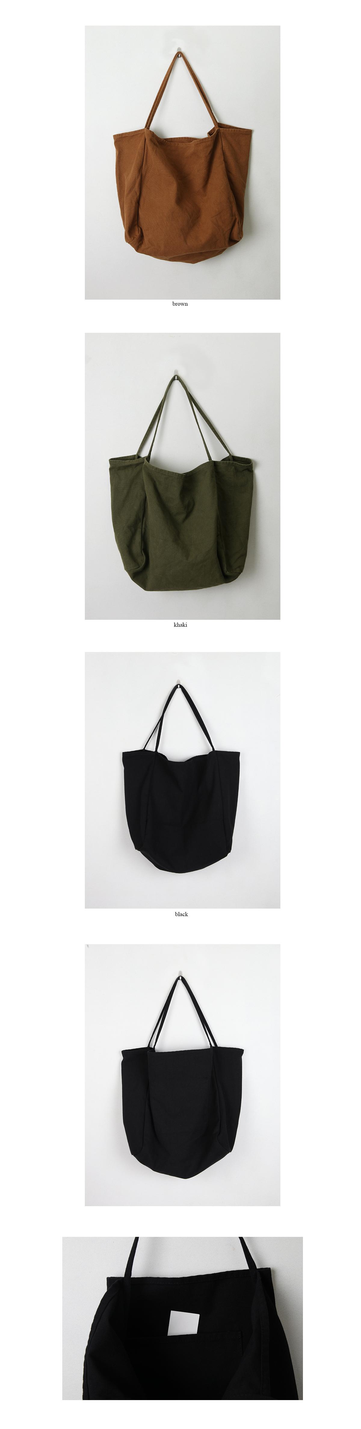 canvas mood bag (3colors)