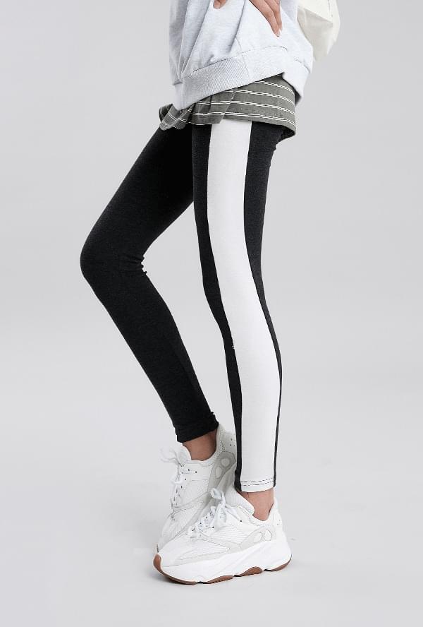 Illusion color leggings