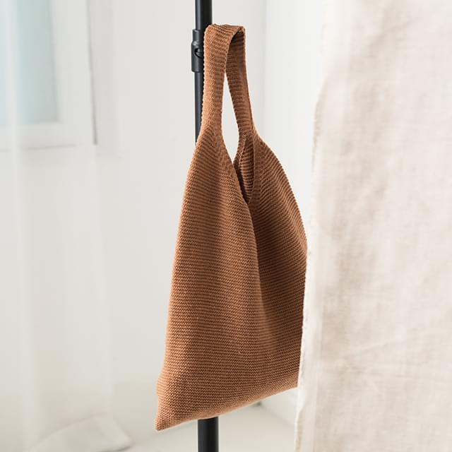 tone down knit eco bag
