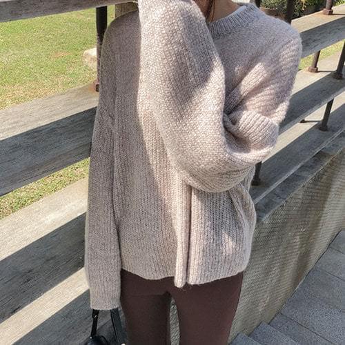 Gemma member special price / Begin- mohair knit