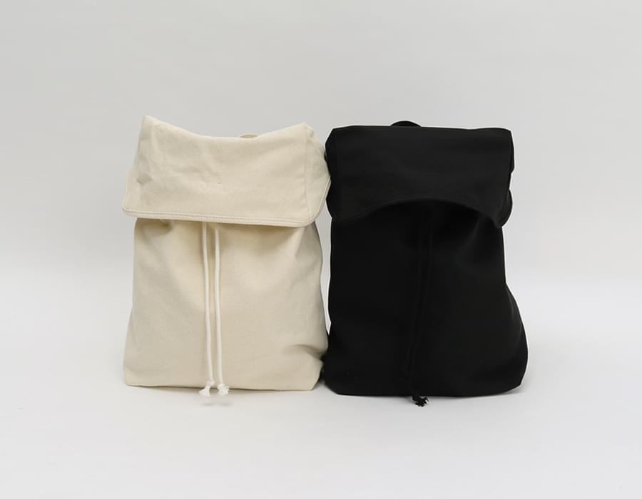 In the cotton backpack_S (size : one)[예약주문 :아이보리 10/04 입고]