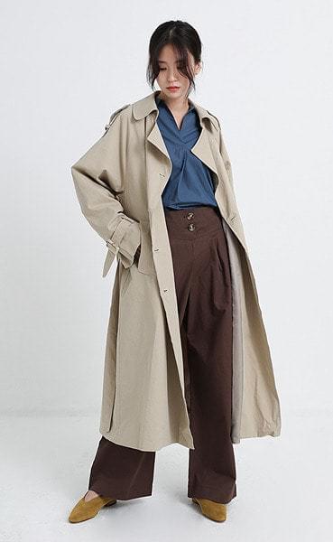 William Trench coat (3colors)