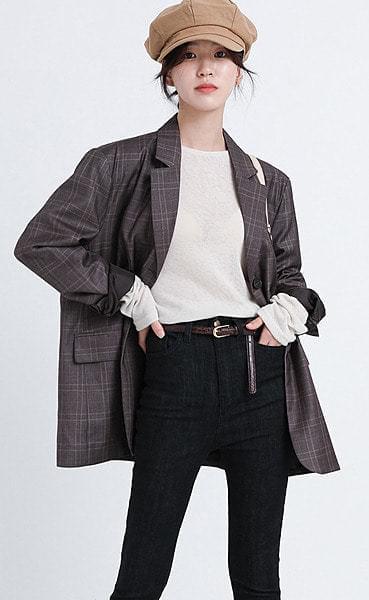 comming button jacket (3colors)