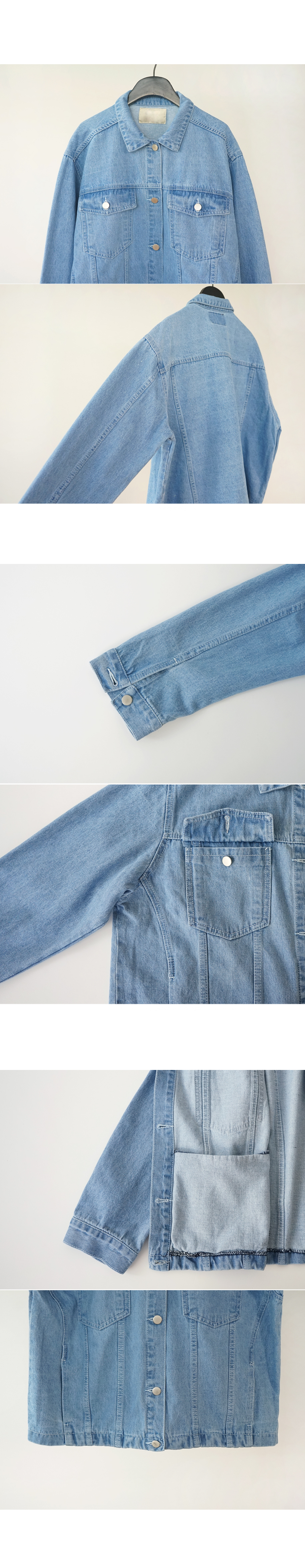 boyish mood denim jacket (2colors)