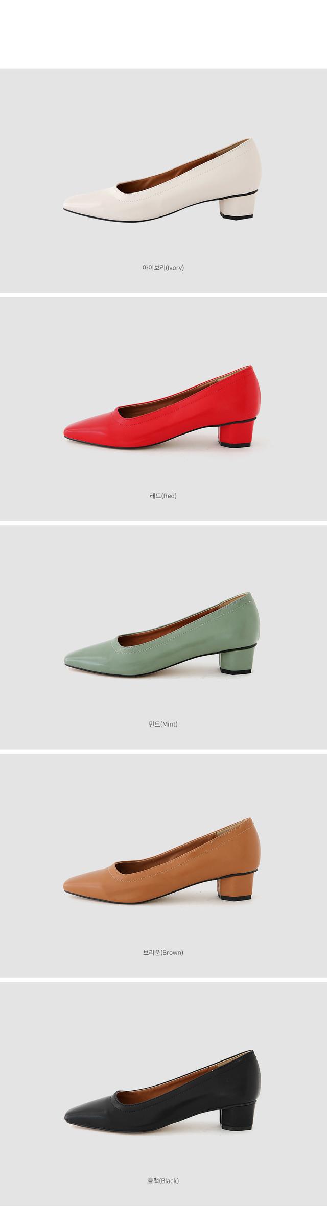 Felica mid heel pumps 3.5cm