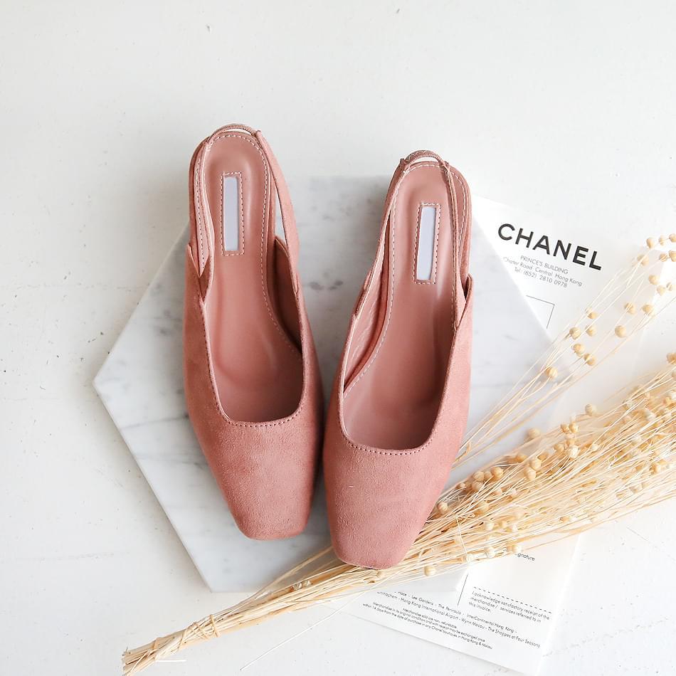Kon's Slingback Flat Shoes 2.5cm