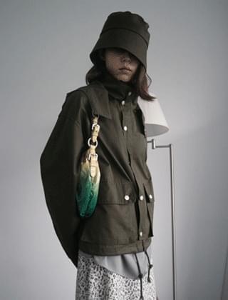 neat fisherman hat (khaki)