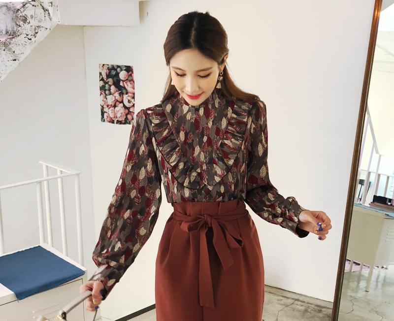 Aura goddess blouse